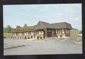 THURMONT MARYLAND MOUNTAIN GATE FAMILY RESTAURANT VINTAGE POSTCARD