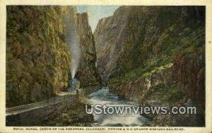 Denver & Rio Grade Western Railroad - Royal Gorge, Colorado CO