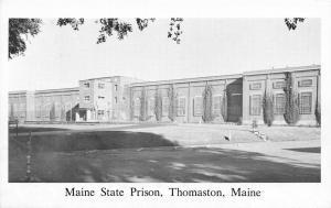 Thomaston Maine~Main State Prison~Wish You Were Here~B&W 1950s Postcard