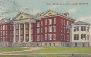 ELYRIA , Ohio , 1911 ; Memorial Hospital