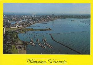 Exciting Aerial View Of Milwaukee Wisconsin