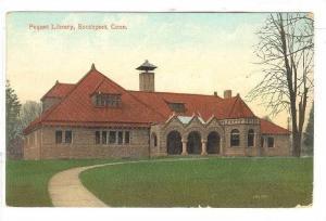 Exterior,Pequot Library, Southport,Connecticut,PU-1911
