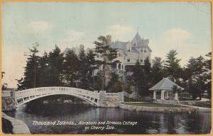 Thousand Islands, New York, Abraham and Strauss Cottage on Cherry Island-1910