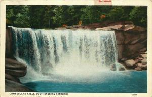 Cumberland Falls, KY, Southeastern Kentucky, White Border Vintage Postcard d3097