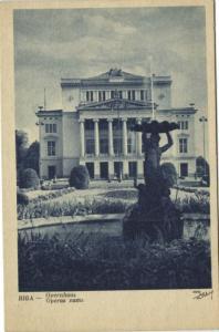 latvia, RIGA, Opernhaus, Opera, THEATRE THEATER (1920s)