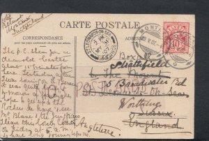 Genealogy Postcard - Boxall - 6 The Mount, St Leonards On Sea, Sussex   RF5604