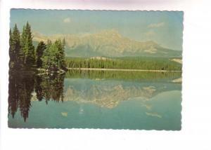 Pyramid Mountain, Lac Beauvert, Jasper, Alberta, JH Bell, Coloyr Canadian Nat...