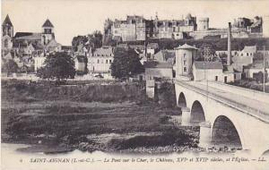 Le Pont Sur Le Cher, Le Chateau, XVI et XVII Siecles, et l'Eglise, Saint-Aign...