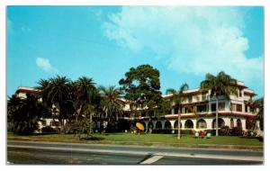 1950s/60s Sunset Residential Hotel, St. Petersburg, FL Postcard