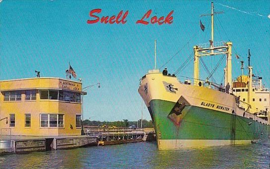 Potsdam Bertrand H Snell Lock Saint Lawrence Seaway New York 1970