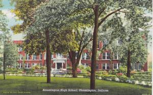 Bloomington High School, Bloomington, Indiana, 1930-1940s
