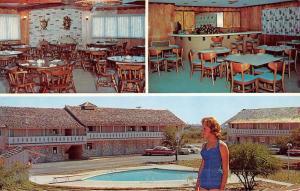 Port Lavaca Texas Viking Motor Hotel Multiview Vintage Postcard K46933