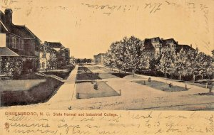 GREENSBORO NC~STATE NORMAL & INDUSTRIAL COLLEGE~1907 TUCK SERIES 7175 POSTCARD