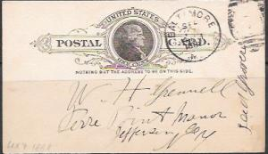 UX9 Jefferson 1888 used