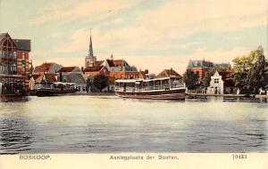 Boskoop Holland Aanlegplaats der Booten Boskoop Aanlegplaats der Booten