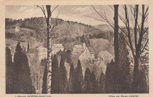 Luftkurort HOFFNUNGSTHAL, GERMANY, 10-20s; Villen am Berge Luderich