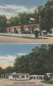 LITTLE ROCK , Arkansas, 1957 ; Bowman's Courts