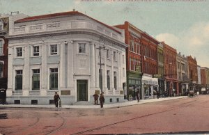 WINDSOR , Ontario , Canada , PU-1912 ; Dominion Bank & Sandwich Street , West