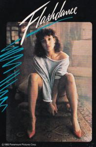 Advertising Flashdance On Videocassette