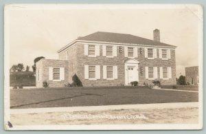 Rogers City Michigan~St ignatius Roman Catholic Convent~Brick Beauty RPPC 1940s