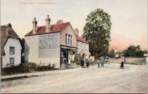 Post Office Cherry Hinton Cambridge England UK Unused Postcard E71