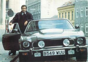 Timothy Dalton as Ian Fleming`s James Bond 007 car in the Living Daylights