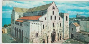 Vintage Postcard Italy Puglia Bari Basilica San Nicola 1964 Large Postcard