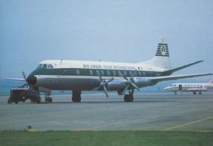 Aer Lingus Viscount EI-AOG at Birmingham Airport Limited Edition of 250 Postcard