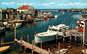 Massachusetts Martha's Vineyard The Basin Menemsha Fishing Village