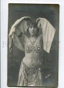 257934 MIMA Ballet BELLY DANCER Vintage ED. MERKEL PHOTO Rus