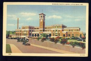 Little Rock, Arkansas/AR Postcard, Missouri Pacific Depot