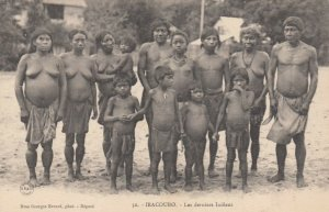 Guyane Francaise , IRACOUBO .- Les derniers Indiens , 1890s