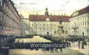 KK Hofburg Wien - Vienna Austria 1908