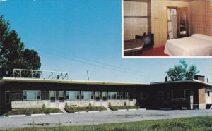 2-Views, Jenny Rock´s Motel, Restaurant, St. Hubert, Quebec, Canada, 40-60s