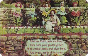 Mother Goose Rhymes Mary Mary Quite Contrary