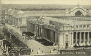 1904 Louisiana Purchase Expo Mogul Egyptian Cigarettes Advertising Postcard 6