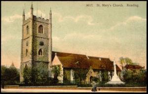 berkshire, READING, St. Mary's Church (1910s)