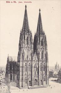 Germany Koeln Dom Westseite