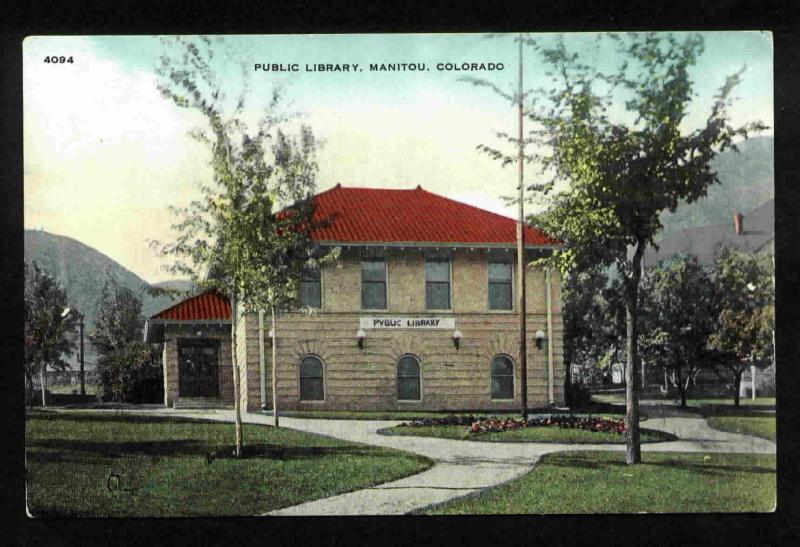 MANITOU, COLORADO PUBLIC LIBRARY