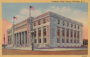 New York Rochester Public Library Curteich