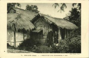 CPA VIETNAM Annam - L'Habitation d'un Missionnaire a HUÉ (94301)