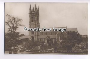 cu1966 - St Patrick's Church & Cemetery, in Coleraine, Co. Londonderry- Postcard