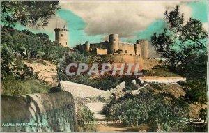 Postcard Modern Palma Mallorca Castillo Bellver