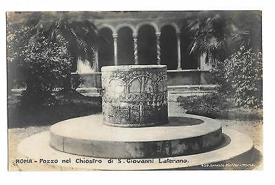 Italy Rome S Giovanni Laterano Well Cloister Vtg RPPC Ernesto Richter  Postcard