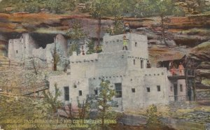 MANITOU , Colorado, 1900-10s ; Taos Indian Pueblo & Cliff Dwellers Ruins