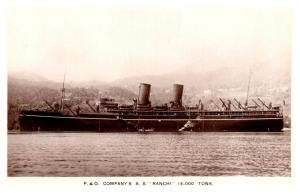 S.S. Ranchi , P and O Line  , RPC