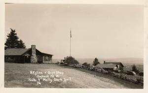 RP; HOGBACK MT., Vermont, 1940-50s; Molly Stark Trail, Skyline & Gift Shop, Rt.9