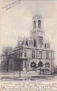 Exterior, Court House, Springfield, Massachusetts, PU-1905