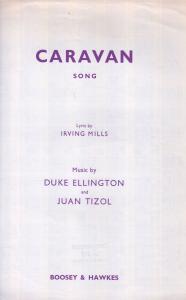 The Caravan Song Duke Ellington 1930s Sheet Music
