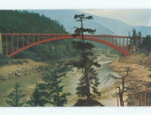 Pre-1980 BRIDGE Fraser Canyon By Hope & Chilliwack & Vancouver BC d3509